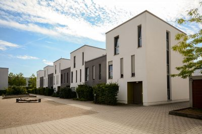 New build house development entice buyers further afield.